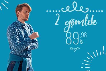 2 GÖMLEK 89.98 TL