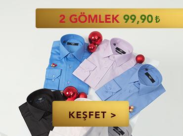 2 Gömlek 99,90 TL