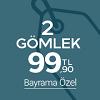 2 Gömlek 99.90TL