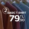 2 T-Shirt 79.90TL