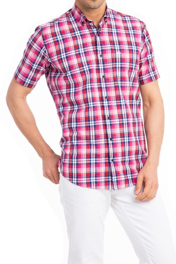 Erkek Giyim - Kısa Kol Spor Gömlek