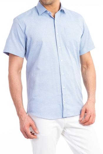 Kısa Kol Ekose Gömlek