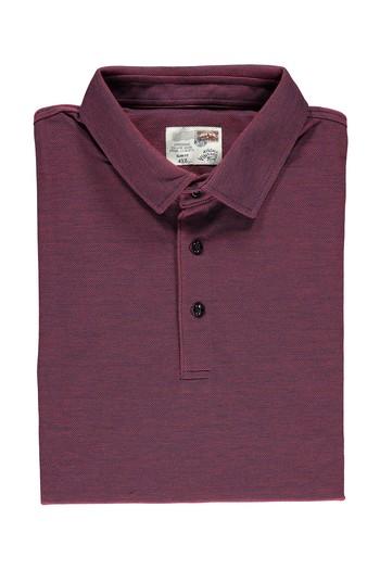 Büyük Beden Polo Yaka Slimfit Tişört