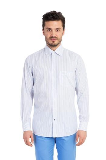 Uzun Kol Çizgili Gömlek
