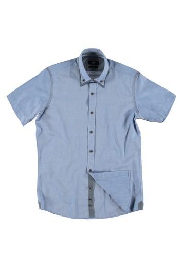 Kısa Kol Slimfit Gömlek