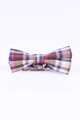Erkek Giyim - Lacivert STD 00 Desenli Papyon