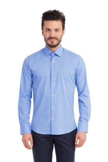 Uzun Kol Slimfit Kolay Ütülenir Gömlek