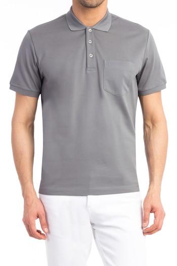 Polo Yaka İtalyan Merserize Tişört