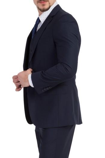 Slimfit Yelekli Takım Elbise