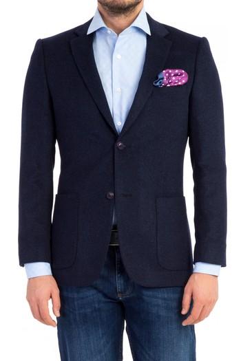 Slimfit Düz Blazer Ceket