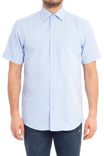 Kısa Kol Klasik Gömlek