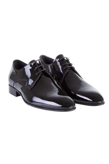 136b802222a31 Erkek Siyah Rugan Ayakkabı   6YOHCN0601042 - Kiğılı