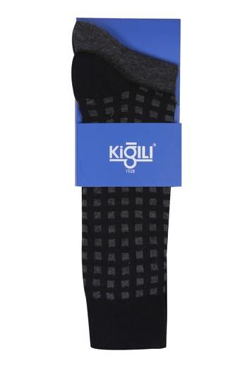 2'li Kareli Çorap