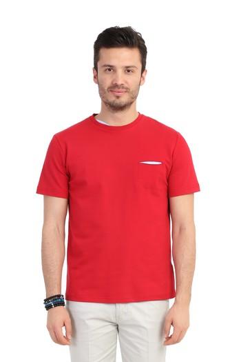 Bisiklet Yaka Slimfit Tişört
