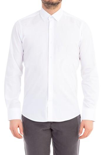 Uzun Kol Kolay Ütülenir Slimfit Gömlek