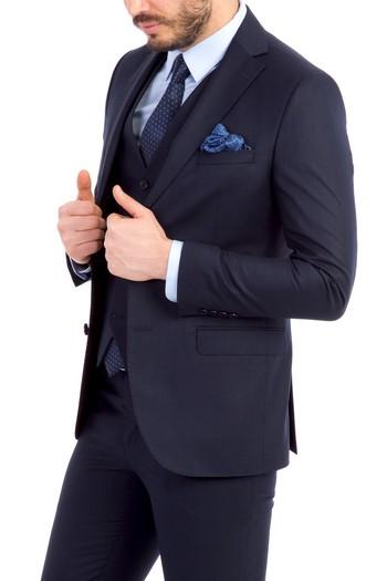 Süper Slimfit Yelekli Takım Elbise