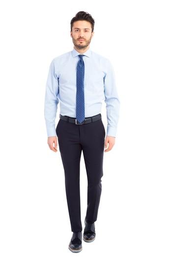 Süper Slimfit Kuşgözü Pantolon