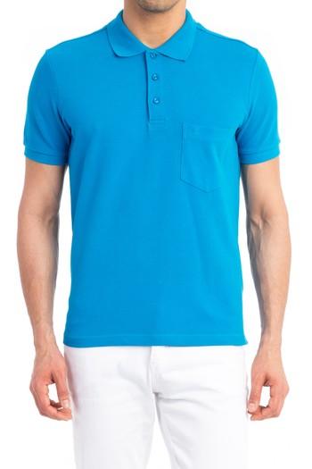 Polo Yaka Düz Tişört