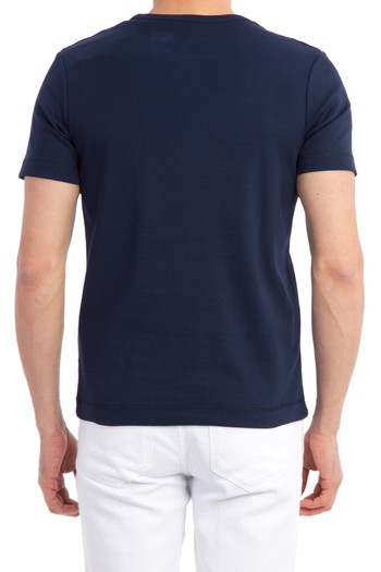 Düğmeli Yaka Slimfit Tişört