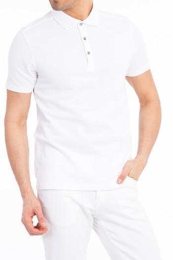 Yarım İtalyan Yaka Slimfit Tişört
