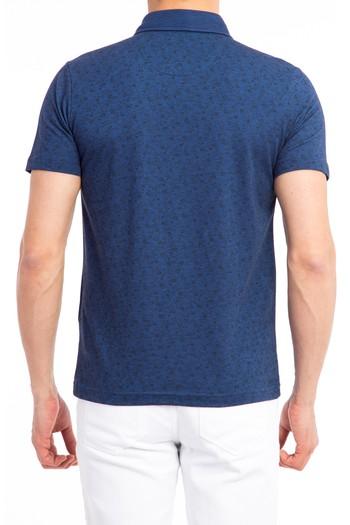 Polo Yaka Baskılı Tişört