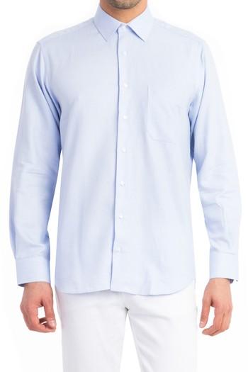 Uzun Kol Düz Gömlek