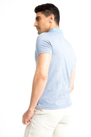Polo Yaka Denim Süprem Tişört