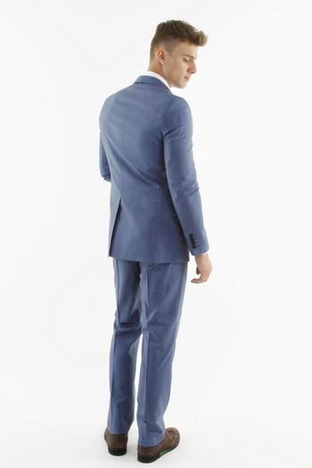 Kuşgözü Slimfit Takım Elbise