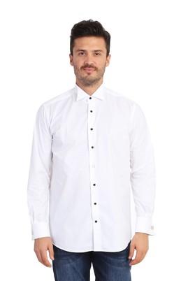 Uzun Kol Ata Yaka Gömlek
