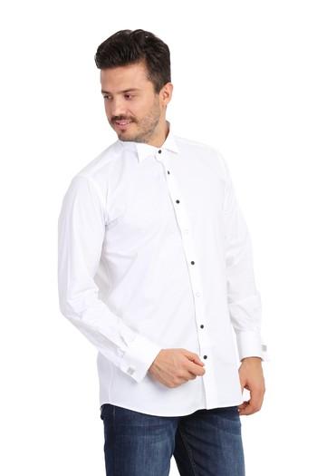 Uzun Kol Atayaka Gömlek