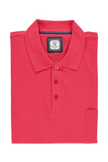 Büyük Beden Polo Yaka Düz Tişört
