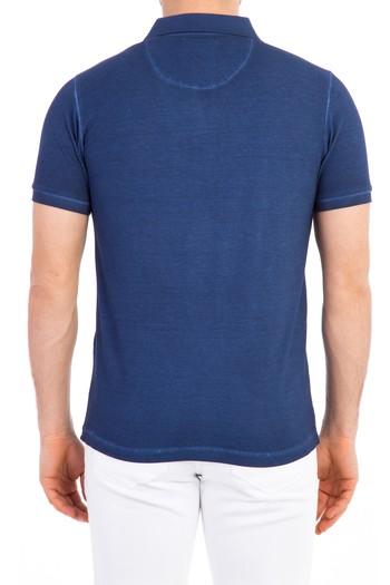 Polo Yaka Slimfit Tasarım Tişört