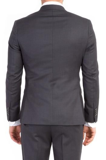 Süper Slimfit Kuşgözü Takım Elbise
