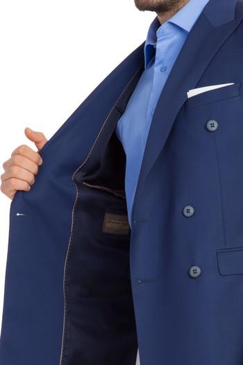 Slimfit Kruvaze Blazer Ceket