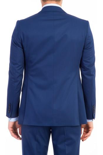 Slimfit Düz Yelekli Takım Elbise