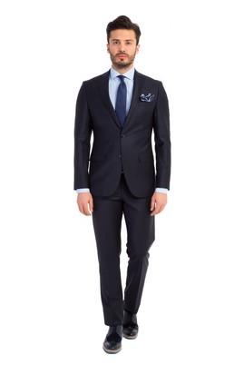 Slim Fit Düz Takım Elbise