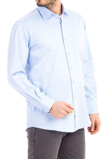 Uzun Kol Saten Gömlek