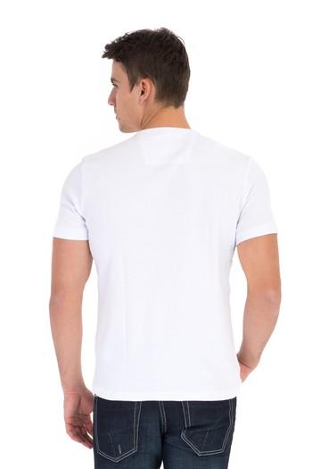 V Yaka Süper Slimfit Tişört