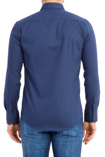 Uzun Kol Süper Slimfit Gömlek