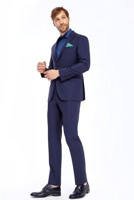 Slim Fit İtalyan Düz Takım Elbise