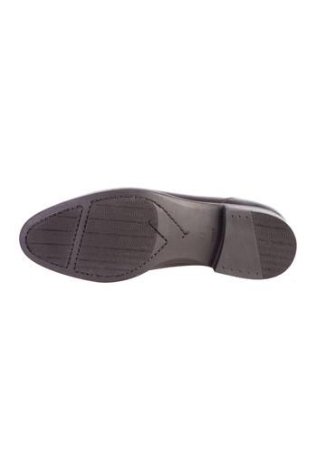 Kauçuk Taban Açma Deri Ayakkabı