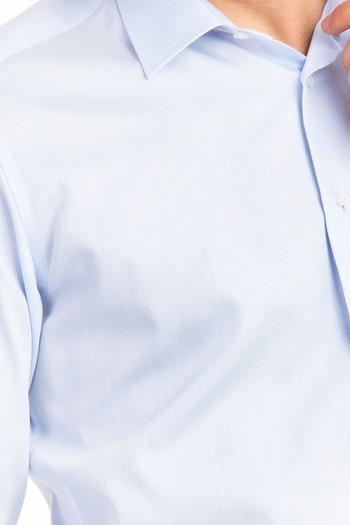 Uzun Kol Slimfit Desenli Gömlek