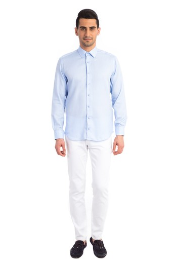Uzun Kol Slimfit Gömlek