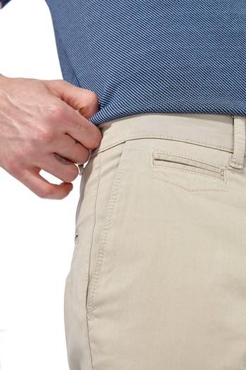 Slimfit Saten Pantolon