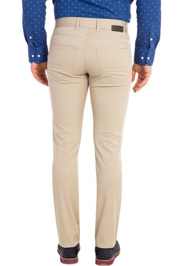Slimfit Düz Pantolon