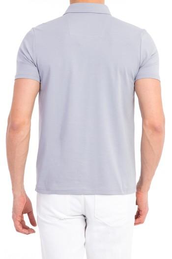 Erkek Giyim - Polo Yaka Süprem Slim Fit Tişört