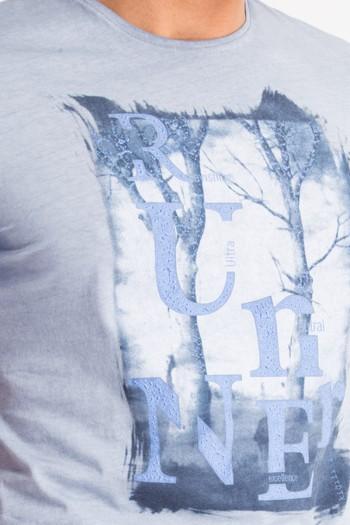 Ağaç Baskılı Tişört