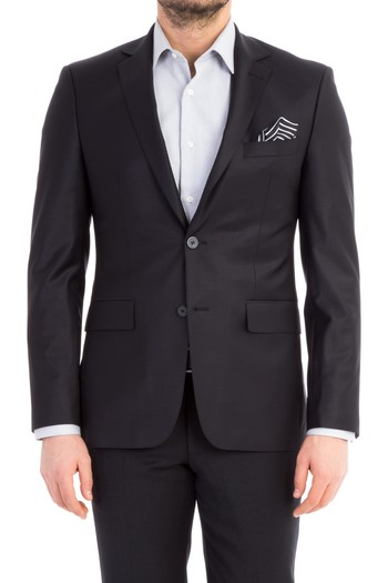 Slim Fit Düz Blazer Ceket