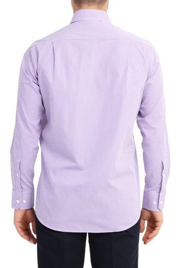 Uzun Kol Klasik Kareli Gömlek