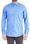 Mavi  Uzun Kol Saten Gömlek